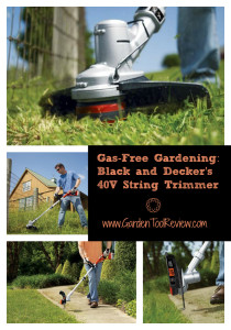 Review of the Black&Decker 40V MAX Cordless Lithium String Trimmer (LST136W)
