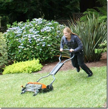 Testing the Fiskars Momentum Mower